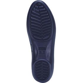 Crocs Lina Luxe Flat Sandals Women Navy